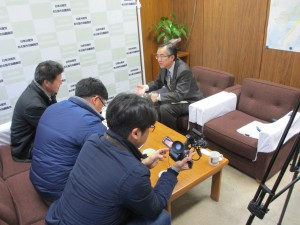 韓国KBSテレビ取材