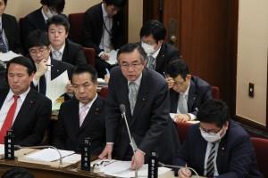 2016年3月7日本会議報酬質問アップ