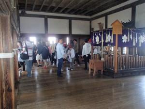 姫路城最上階