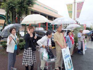 2016.7.9ヨシヅヤ前で聞く人