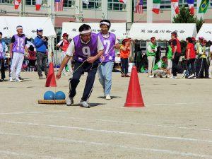2016.9.25露橋学区運動会ボール運びでっせ