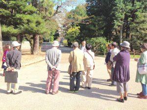 文化後援会で名古屋城へ
